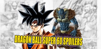DRAGON BALL SUPER 60 SPOILERS