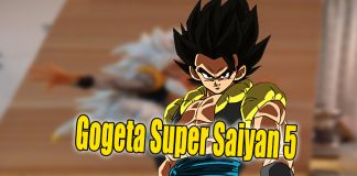 gogeta super saiyan 5 noticias anime