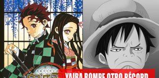 Demon Slayer rompe récord de One Piece