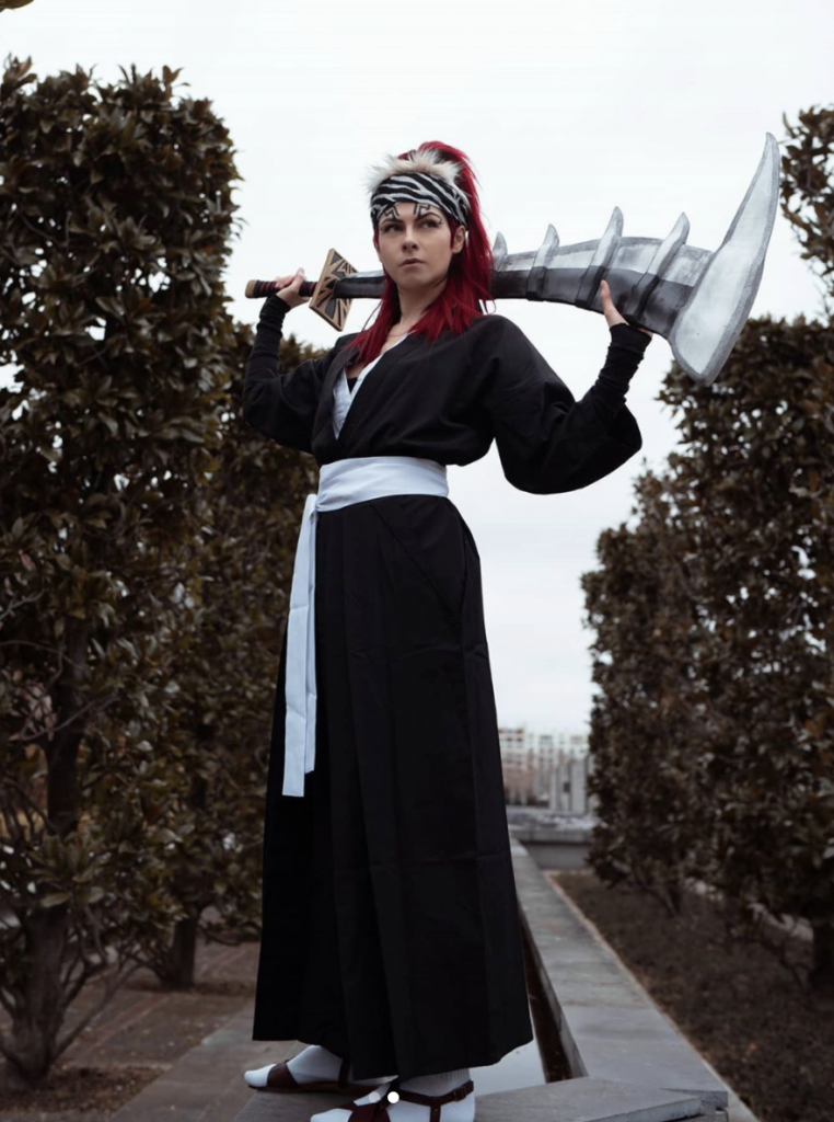Renji cosplay Bleach