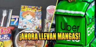 Uber Eats anime manga