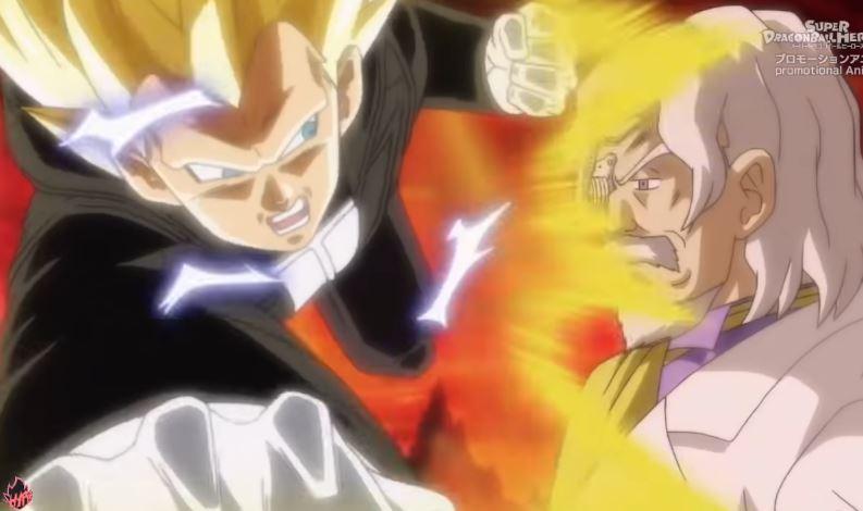 Vegeta Super Saiyan 3 por fin en anime gracias a Super Dragon Ball