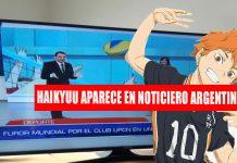 Haikyuu noticiero argentina