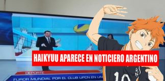 Haikyuu noticiero argentina
