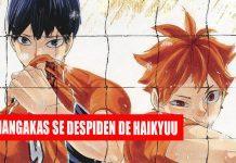 Haikyuu manga final noticias de anime