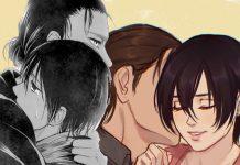 Shingeki no Kyojin manga 130 : Mikasa sí ama a Eren ¡confirmado!