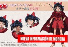 Hanyo no Yashahime nueva información noticias de anime