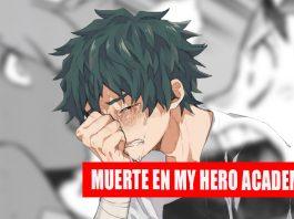 my hero academia fallece personaje noticias de anime