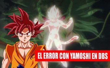 Dragon Ball Super: Yamoshi nunca fue el primero Super Saiyan Dios y todo fue un error de traducción