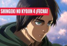 Shingeki no Kyojin 4 : Filtración indica fecha de estreno