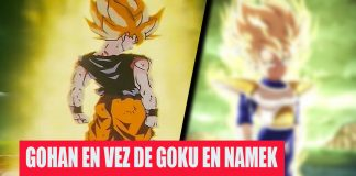 Dragon Ball Z : Así se hubiese visto Gohan Super Saiyan contra Freezer