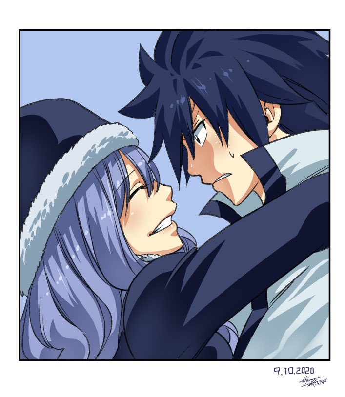 Gray y Juvia más amorosos que nunca, gracias al autor de Fairy Tail