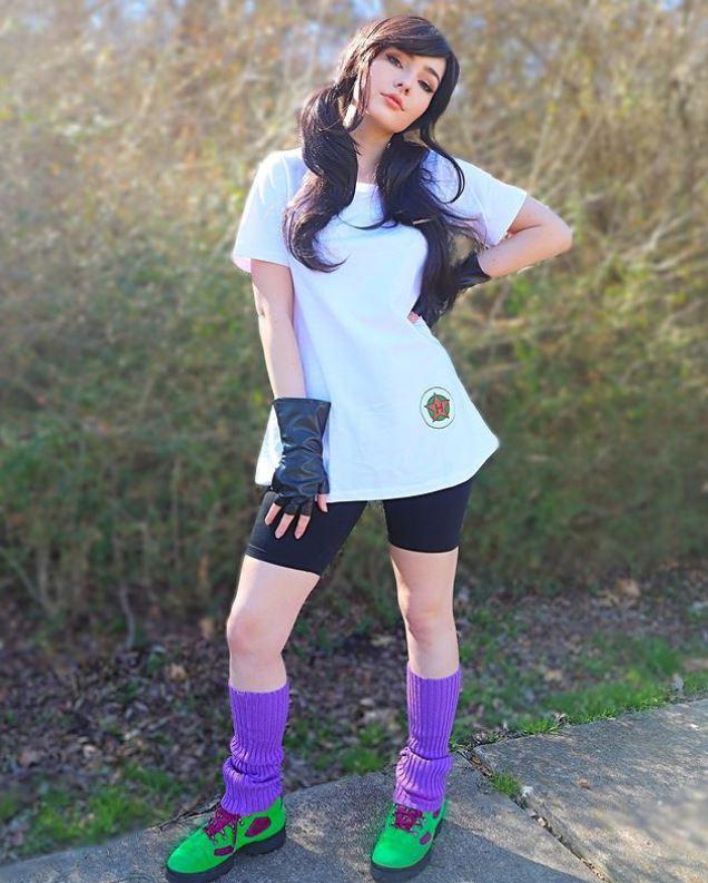 Fans de Dragon Ball se enamoran de esta bella fan y su cosplay de Videl