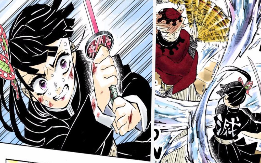 Kimetsu no Yaiba: Animan la pelea de Kanao y Doma, el Luna Superior 2 en épico vídeo