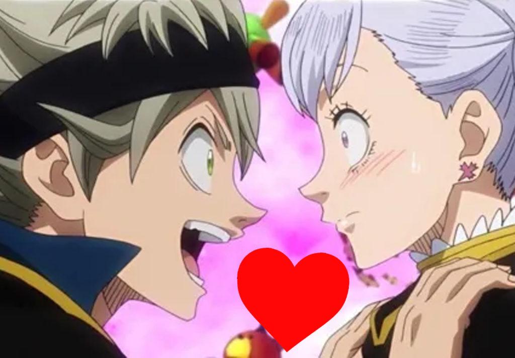 Fans de Black Clover celebran el momento romántico entre Asta y Noelle en el manga